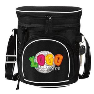 Double Compartment 12 Pack Golf Cooler