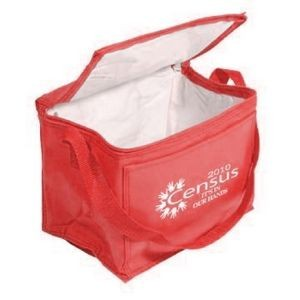 6-Pack Nylon 210D Cooler w/ Front Pocket